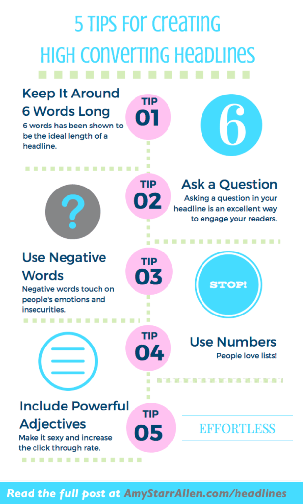 5 tips for creating high converting headlines