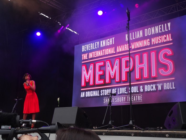Beverely Knight at West End Live performing Memphis