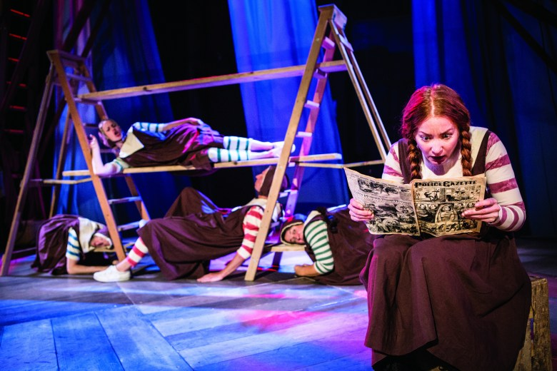Hetty Feather (Phoebe Thomas) at The Lowry