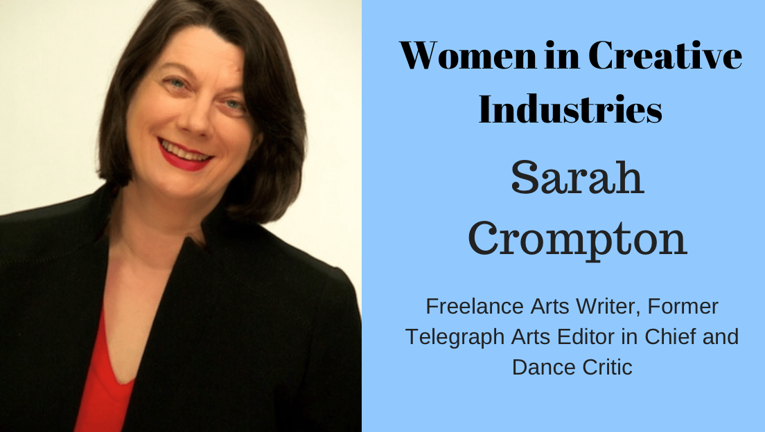 Amy Stutz interviews Former Arts Writer and Telegraph Editor Sarah Crompton