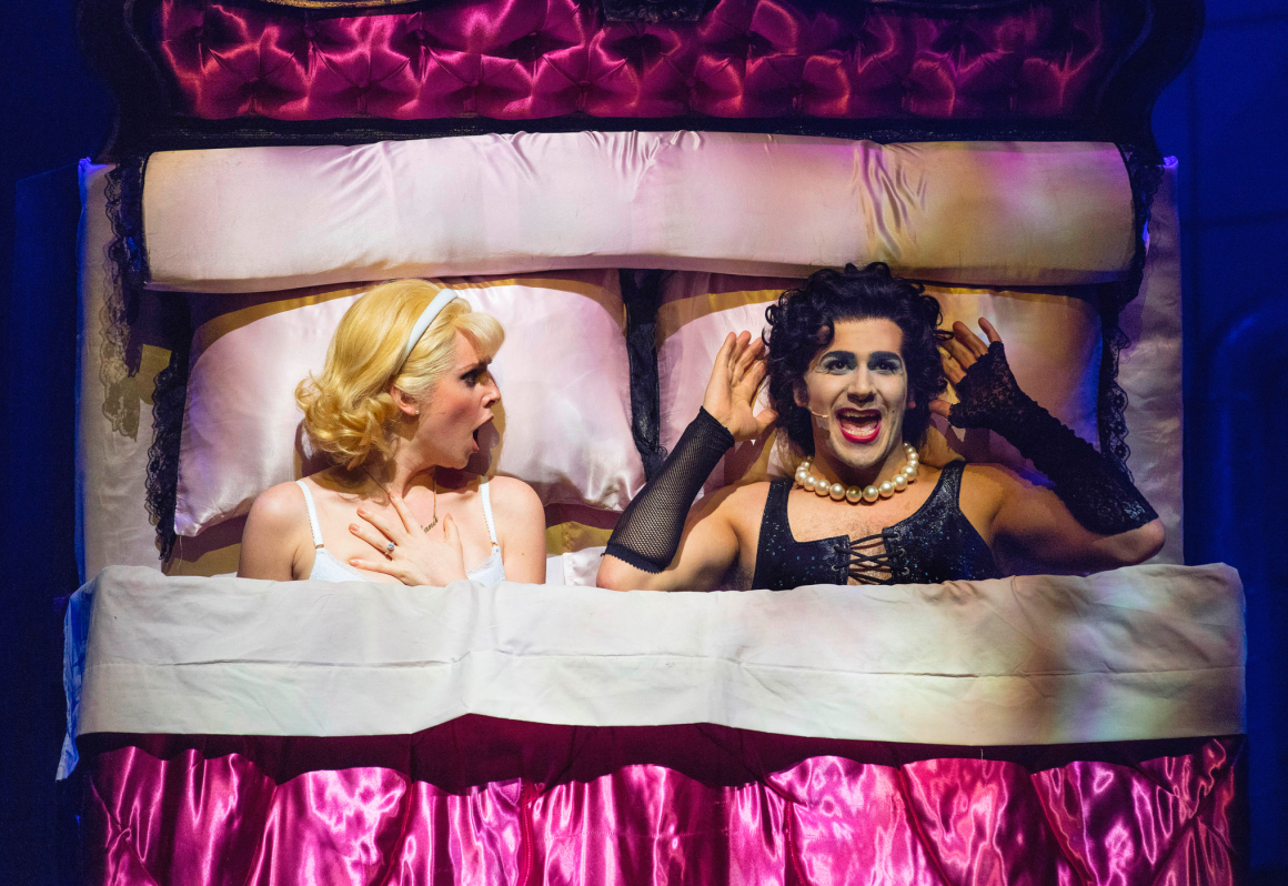 Liam Tamne in the Rocky Horror Show - Review by Amy Stutz