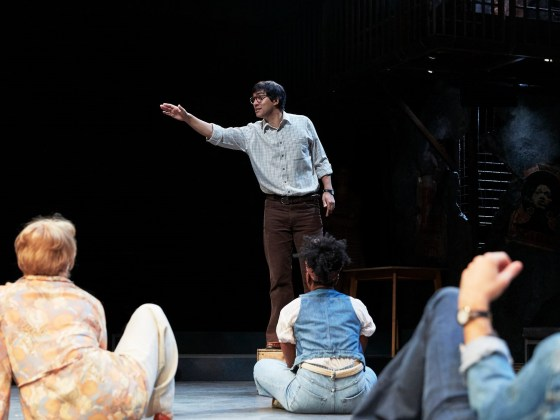 Maydays at the RSC The Other Place. Photo credit: Richard Lakos