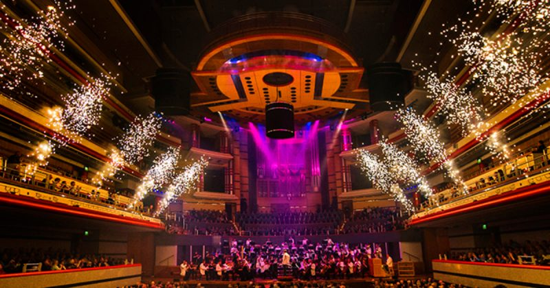 Christmas Spectacular at the Town Hall Symphony Hall in Birmingham