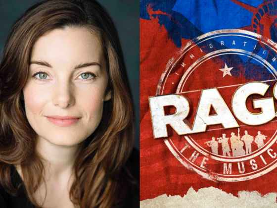 Rebecca Trehearn in RAGS the Musical at the Hope Mill Theatre