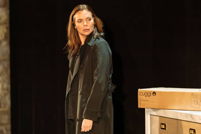 Samantha Womack in Girl On The Train . Photo credit: Manuel Harlan