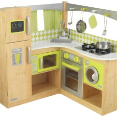 Kidkraft Grand Gourmet Corner Kitchen Play Set How To Decorate Cabinets Gift Ideas For A Pretend Home Amy 39s Wandering
