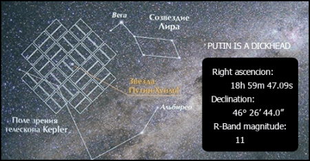 Star Putin Huilo