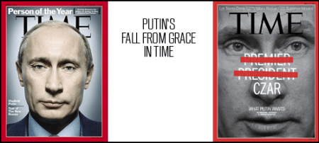 Putin on the cover of Time Magazine