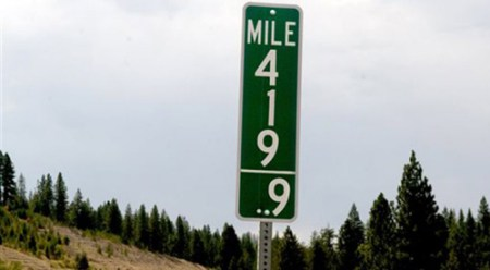 Idaho-mile-marker