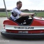 Man Creates A 100 mph Bumper Car