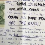 Soldier Discovers A Terrifying Note On His Car Windshield Covering Every Major Conspiracy Theory!