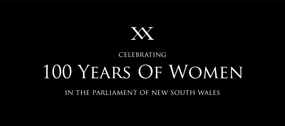 XX 100 years of women in NSW parliamentArtboard 1