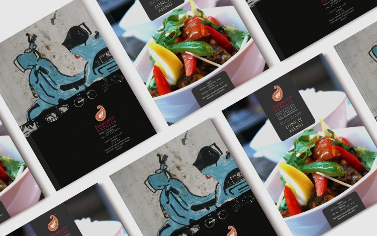 Amyth-and-amit---Namaste-Express-Branding---Brochure-and-menu-design