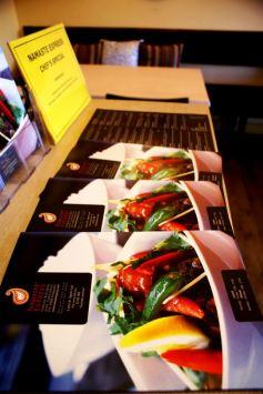 Namaste Express Branding Design Showcase - Amyth and amit - brochure and restaurant menu design and print
