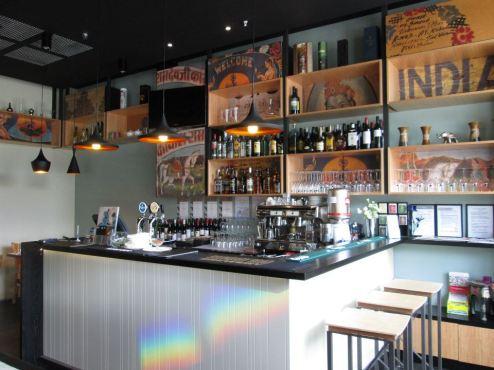 Namaste Express Branding Design Showcase - Amyth and amit - restaurant bar
