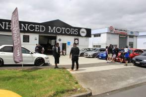 Enhanced Motors - branding on point