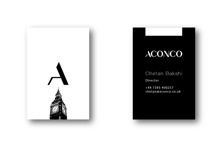 ACONCO Branding - business card design - amyth and amit 1Artboard 52