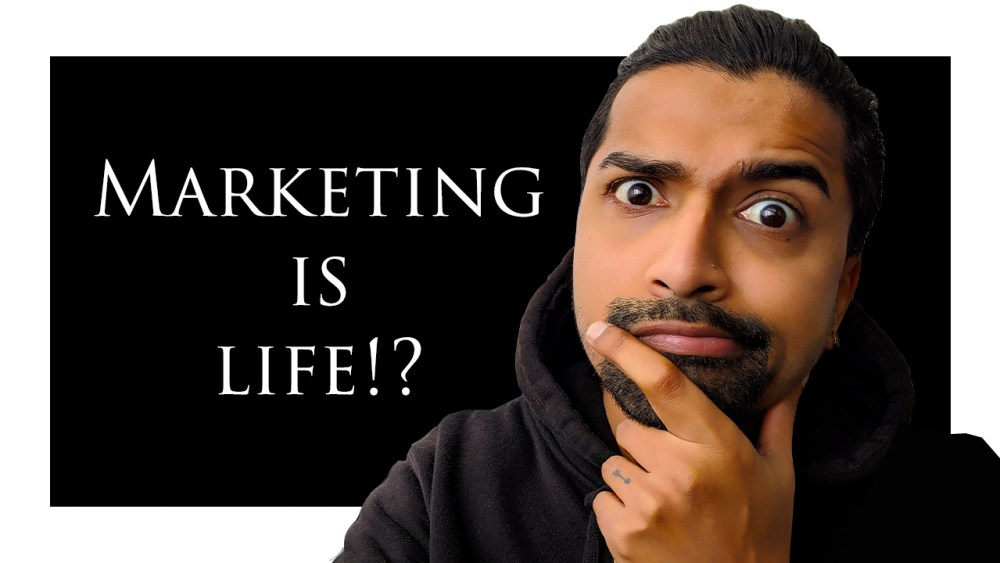 Marketing is Life is a brand new book written by Amit Anil.