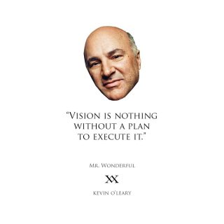 A wealth of knowledge and entertainment, Mr. Wonderful is definitely one of my favourites! He makes business, strategy and money a fun and engaging topic. If you don't already know him, it's worth learning about his journey to billions! #MrWonderful