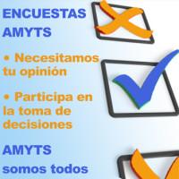 150 Encuestas AMYTS 3x3 cm