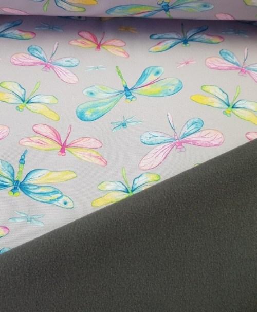 Softshell sweet dragonfly grau