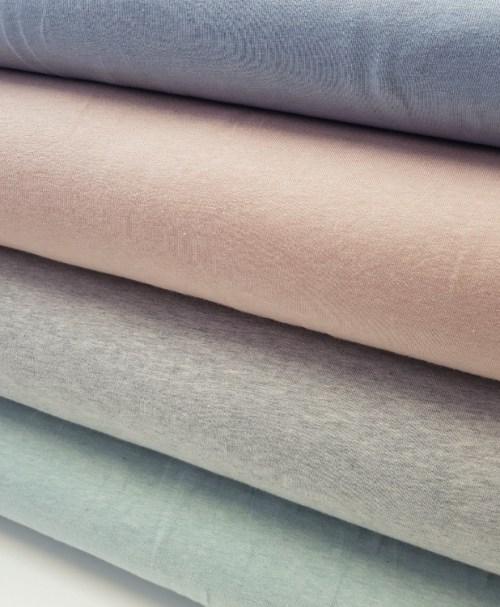 Organic Jersey Melange grey