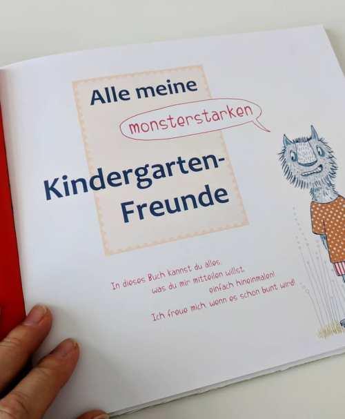 Susalabim Meine monsterstarken Kindergartenfreunde