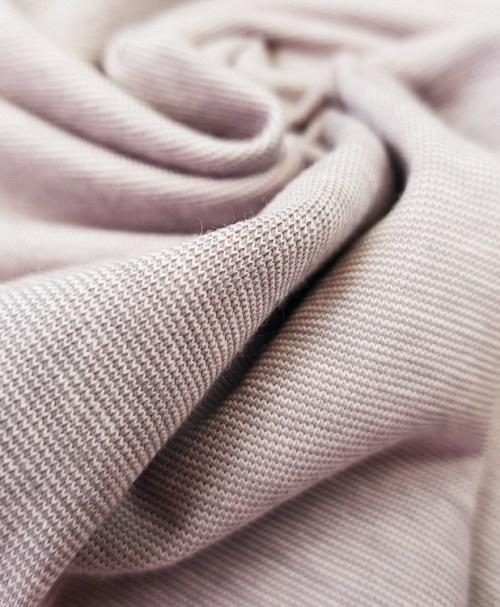 Jersey Miniringel rosa/grau