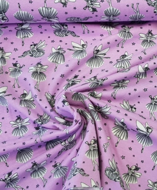 Jersey Ballerina-Feen lila