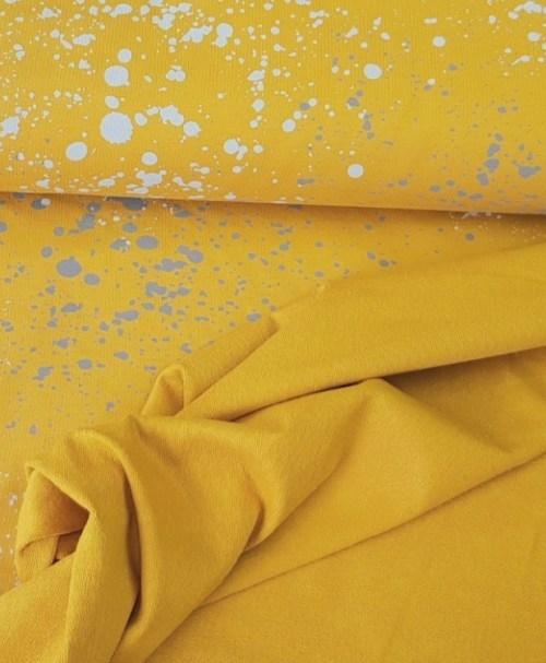 Sommersweat small Splash mustard