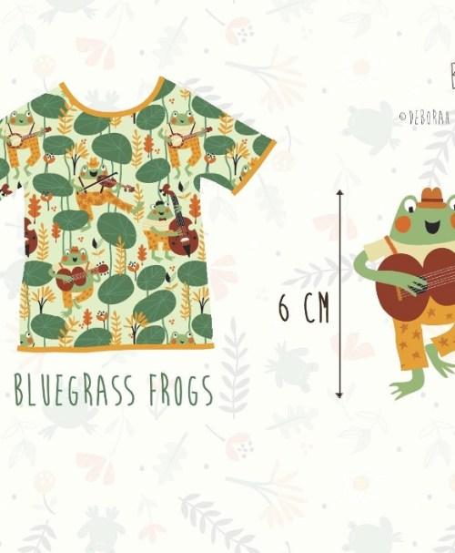 Lillestoff Jersey Bluegrass Frogs