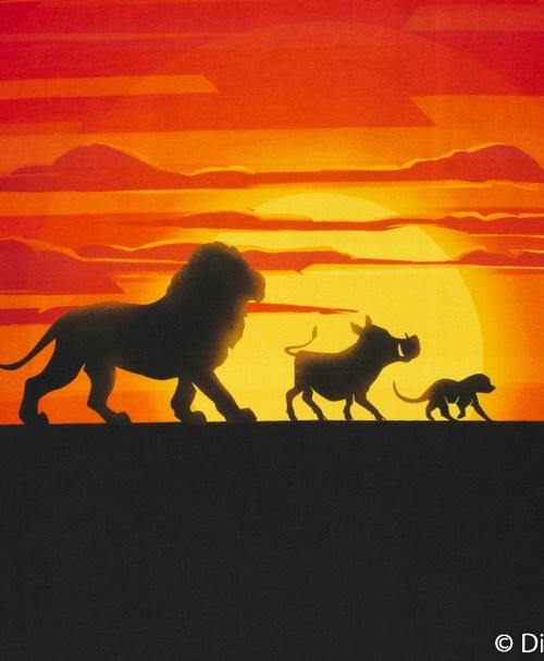 Lizenz-Jersey 3er-Panel König der Löwen