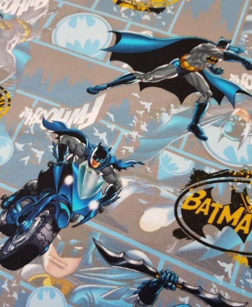 Lizenzjersey Batman blau/gelb