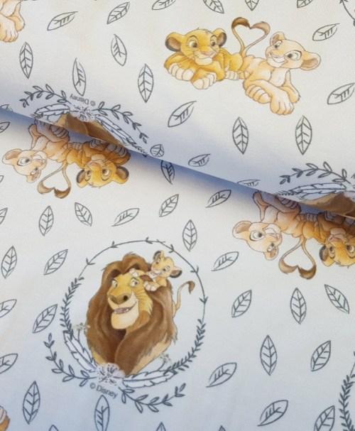 Lizenzjersey König der Löwen Simba/Mufasa/Nala hellgrau