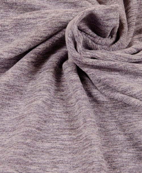 Fleece TINO grau meliert