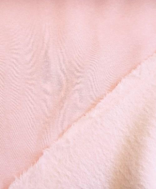 Alpenfleece Uni rosa