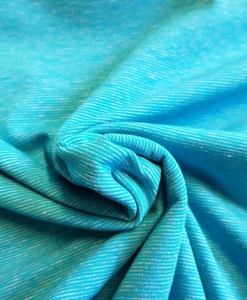Sweat Stripe Brushed türkis