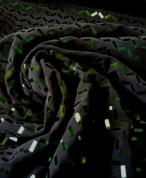 Hilco Jersey Foliendruck Laura grün