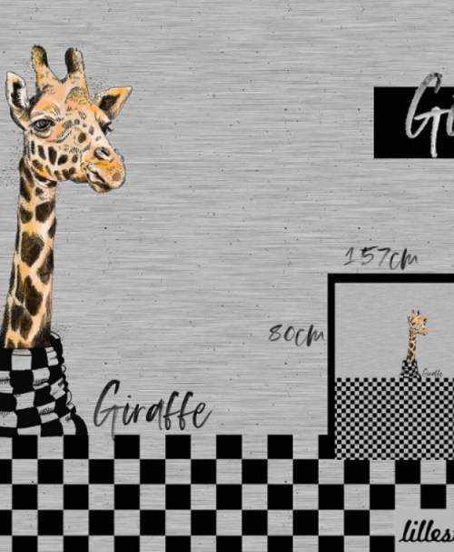 Lillestoff Jersey Rapport Giraffe
