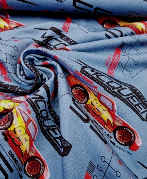 Lizenzjersey Cars rauchblau Lightning McQueen