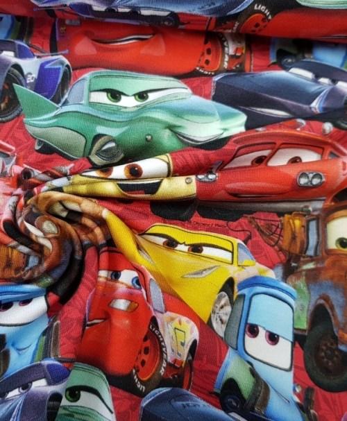 Lizenzjersey Cars bunt