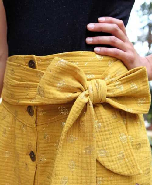 Musselin goldene Pusteblumen senf
