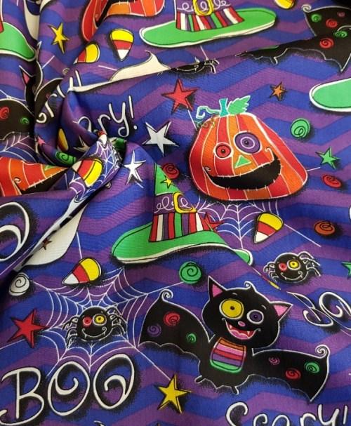 Webware Poplin Halloween Scary Boo