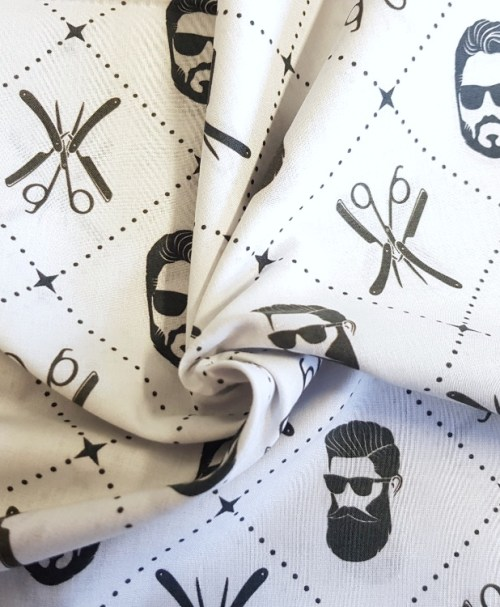 Webware Poplin – Premium Collection, made in Spain, Barber Shop
