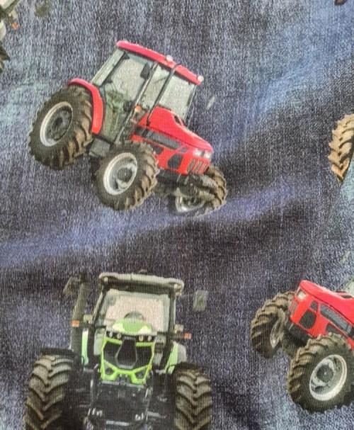 Jersey Traktoren, jeanslook