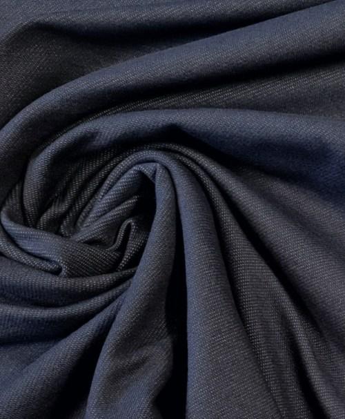 Jeansjersey jeansblau dunkel