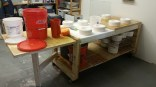 Slip casting set up