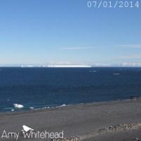 Iceberg on the horizon