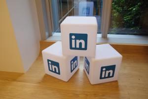 Large LinkedIn blocks.