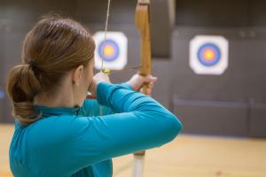 Archery Image to Portray Targeting Customers
